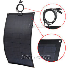 Lensun 80W Black flexible solar panel ETFE Laminated Technology,Super Quality