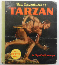 Big Little Book 1180 New Adventures of Tarzan 1935 (Film) Whitman Publ Burroughs