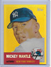 2008 TOPPS GOLD CHROME REFRACTOR MICKEY MANTLE #MMR53 REPRINT