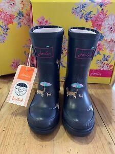 Joules Girls Welly UK1 EU33 BNIB