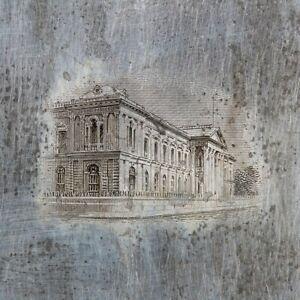 American Bank Note Company: El Salvador Printing Plate (National Palace)
