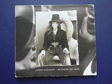 Janet Jackson because of love 7 mix 1994 digipack CD single