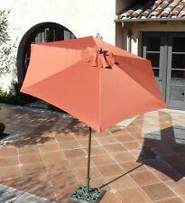 7.5 ft Aluminum market umbrella, Crank and Tilt  - Terra