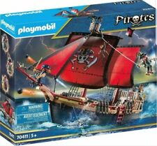 NEW Playmobil ® Pirates 70411 Pirate Skull-Battle Ship 13173339 OVP cannons!
