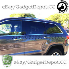 For 2011-2017 JEEP Grand Cherokee 4 Chrome Door Handle Cover W/O PSG keyhole
