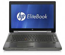 """HP EliteBook 8560w 15"""" Biz/Gaming Laptop Core i7 Quad 16GB 2TB SSHD Win 7 or 10"""
