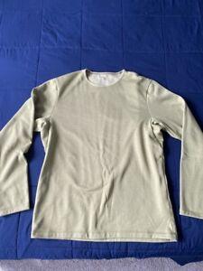 Arcteryx Dallen Fleece Pullover Crew Sweatshirt -Men's Large, Color Lt Kinetic