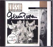 ROZHDESTVENSKY Signed BALAKIREV Symphony 1 & 2 SVETLANOV CD Sinfonien