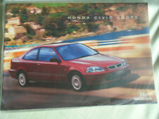 Honda Civic Coupe range brochure Feb 1998