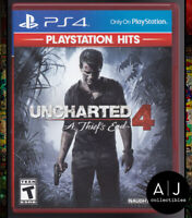 Uncharted 4: A Thief's End - Greatest Hits Edition - Sony PlayStation 4 PS4