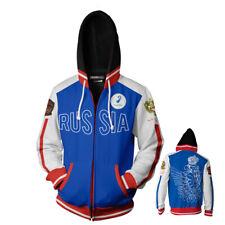 YURI!!! on ICE Hoodie Full-Zip Hooded Sweatshirt Unisex Casual Jacket Coat Tops