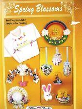 Fibre-Craft 293 Spring Blossoms 1992 floral crafts items pattern leaflet