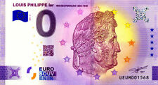 63 CLERMONT-FERRAND Louis-Philippe 1er, 2021, Billet Euro Souvenir