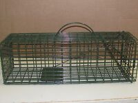 "Duke Cage Live Trap 16""x5""x5"" #1100 Trapping rabbit Squirrel Chipmunk Rat garden"