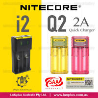 NITECOR new i2 2slot battery charger / Q2 charger 2A Quick Charger 2-slot > D2