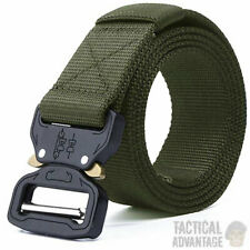 OD Green Quick Release Buckle Tactical Army Belt Webbing Cobra Airsoft Hunting