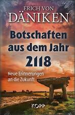 BOTSCHAFTEN AUS DEM JAHR 2118 - Erich von Däniken BUCH - NEU
