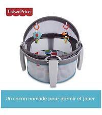 Fisher-Price Dôme-lit protection bébé portable 2-en-1 pour le jeu ou la sieste