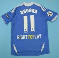 Chelsea Home Shirt Champions League Final 2012 Drogba #11 Jersey Fan Version