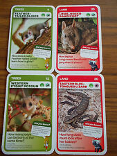 WOOLWORTHS BABY AUSSIE ANIMAL CARDS  Nos. 4 12 20 23