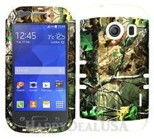 For Samsung Galaxy Ace Style S765c KoolKase Hybrid Cover Case - Camo Mossy 73