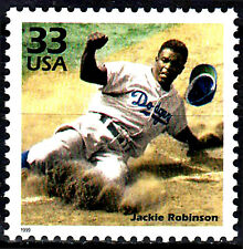 USA postfrisch MNH Jackie Robinson US Sport Baseball Los Angeles Dodgers / 235
