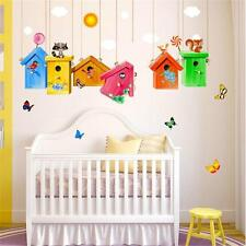 Birdcage Removable Wall Stickers Decal Art Vinyl Quotes Mural Kids Room Decor B