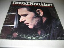 DAVID HOUSTON WHERE LOVE USED TO LIVE / MY WOMAN'S GOOD LP EX Epic BN26432 1969