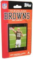 Topps NFL Football Team Set 2007 Cleveland Browns - 12 Card Set - NIP