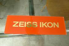 Vintage ZEISS IKON Display Sign Plexiglass Rare!! Excellent Condition Last One.!