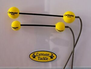 CatMaster Tackle Leech & Worm Dumbells (Yellow)