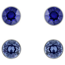 Swarovski Madyson Rhodium - Plated Stud Earrings - 5414600