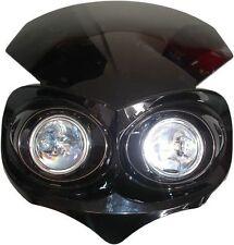 ALIEN Style Noir Moto STREETFIGHTER NEUF MOTOCROSS MX PHARE bc37452 T