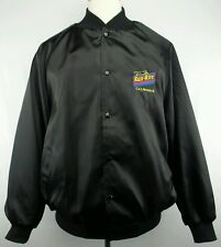 Vintage West Ark Run-Rite C.A.T. Products Button Up Satin Jacket Size Adult 2XL
