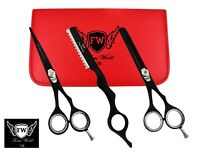"""6"""" Professional Hair Cutting Thinning Shears Barber Hairdressing Scissors Set"""