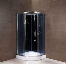 Dusche Duschtempel komplett Duschkabine 90x90 MSD105