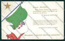 Bologna città Militari cartolina QQ9150