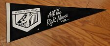 House of Heileman Beer Right Moves Black Felt Banner Pennant