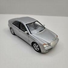 Silver Mercedes-Benz C-Class Diecast Car Welly Scale 1:24