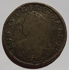 "1729 France Lud XV ""Louis the 15th""  ECU   PAU Mint"