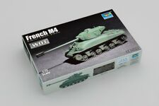 Trumpeter 07169 1/72 Scale Military Tank Model Kit French M4 Sherman