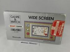 NINTENDO SNOOPY TENNIS - GAME & WATCH CONSOLE HANDHELD LCD SCREEN - BOXATO BOXED