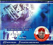 2003 In The Game Toronto Star NHL Collector Hockey Cards Sealed Box