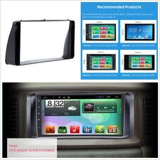 2Din Car Auto Dashboard Radio Fascia Stereo Panel Audio Frame For Toyota Corolla
