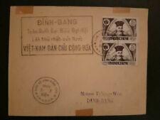 Cover North Vietnam Dinh-Bang 1945 Indochine Enveloppe Lettre