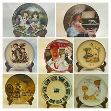Collector Plates You Choose Reco, Schmid, Bradford, Regency, Knowles, Hamilton