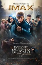 FANTASTIC BEASTS AND WHERE TO FIND THEM  9x13 ORIGINAL IMAX PROMO MOVIE POSTER
