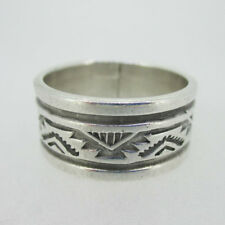 Ring Band Size 11.5 Sterling Silver Southwest Troy Laner