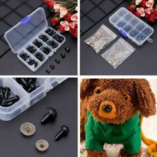100 Pcs Plastic Safety Doll Eyes for Bear Stuffed Toys Animal Puppet 6-12mm Diy