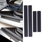 4stk KFZ Auto Türschwelle Einstiegsleisten Schutzleisten Kohlefaser Aufkleber A1